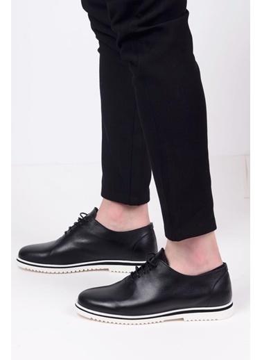 James Franco 5692 Günlük Erkek Deri Ayakkabı Siyah